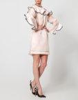 Коктейльное платье с воланами NLN_AI3709-1, фото 3 - в интеренет магазине KAPSULA