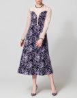 Платье миди с открытыми плечами NLN_AI3718-1, фото 3 - в интеренет магазине KAPSULA