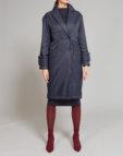 Комбинированое пальто из шерсти ламы VONA_FW-19-20-56, фото 5 - в интеренет магазине KAPSULA