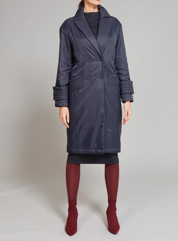 Пальто на подкладе с карманами VONA_FW-19-20-54, фото 1 - в интеренет магазине KAPSULA