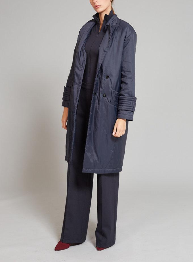 Пальто на подкладе с карманами VONA_FW-19-20-54, фото 1 - в интернет магазине KAPSULA