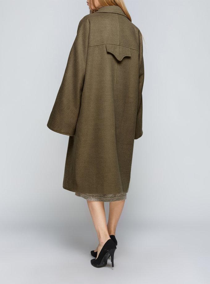 Пальто свободного силуэта AY-2837, фото 1 - в интернет магазине KAPSULA