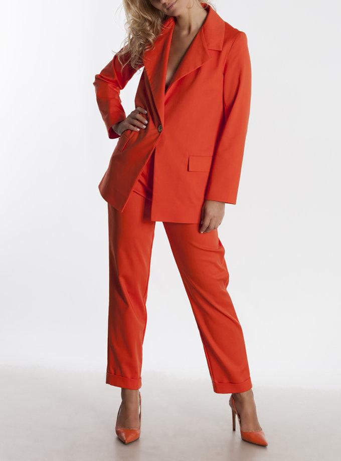 Классические брюки из хлопка AD_081019, фото 1 - в интернет магазине KAPSULA