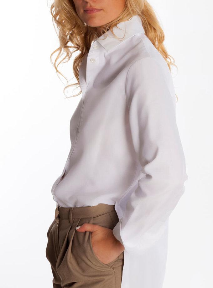 Рубашка на запах сзади AD_101019, фото 1 - в интернет магазине KAPSULA