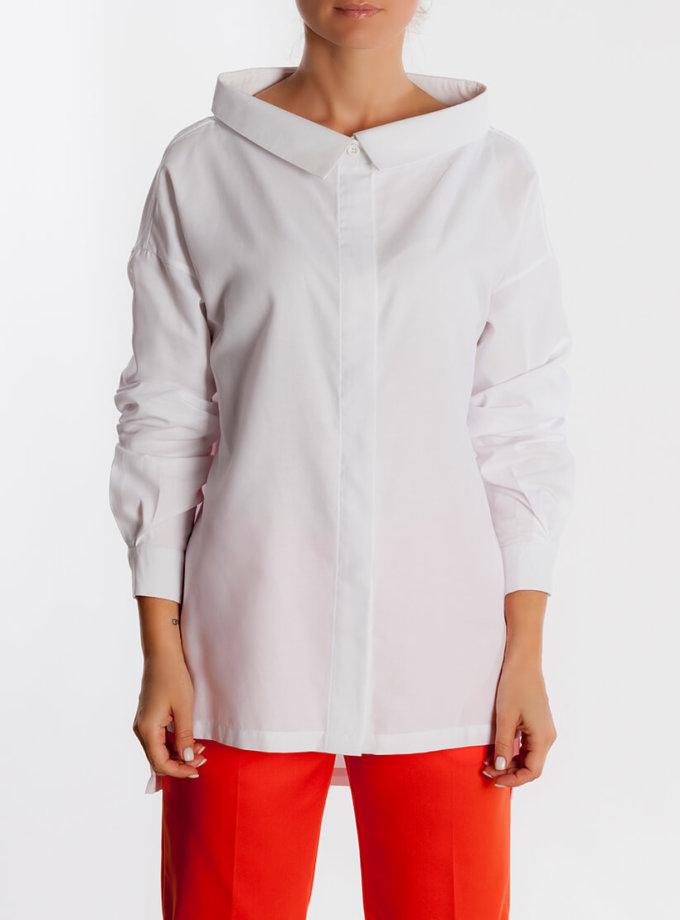 Рубашка с широким воротом AD_131019, фото 1 - в интернет магазине KAPSULA