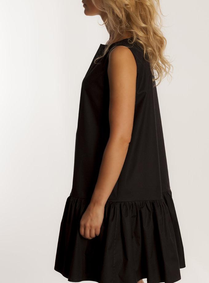 Платье А-силуэта из хлопка AD_141019, фото 1 - в интернет магазине KAPSULA