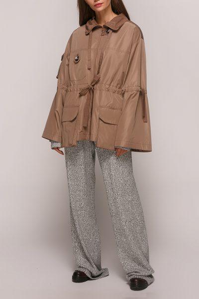 Куртка на подкладе с кулисками AY_2829, фото 1 - в интеренет магазине KAPSULA