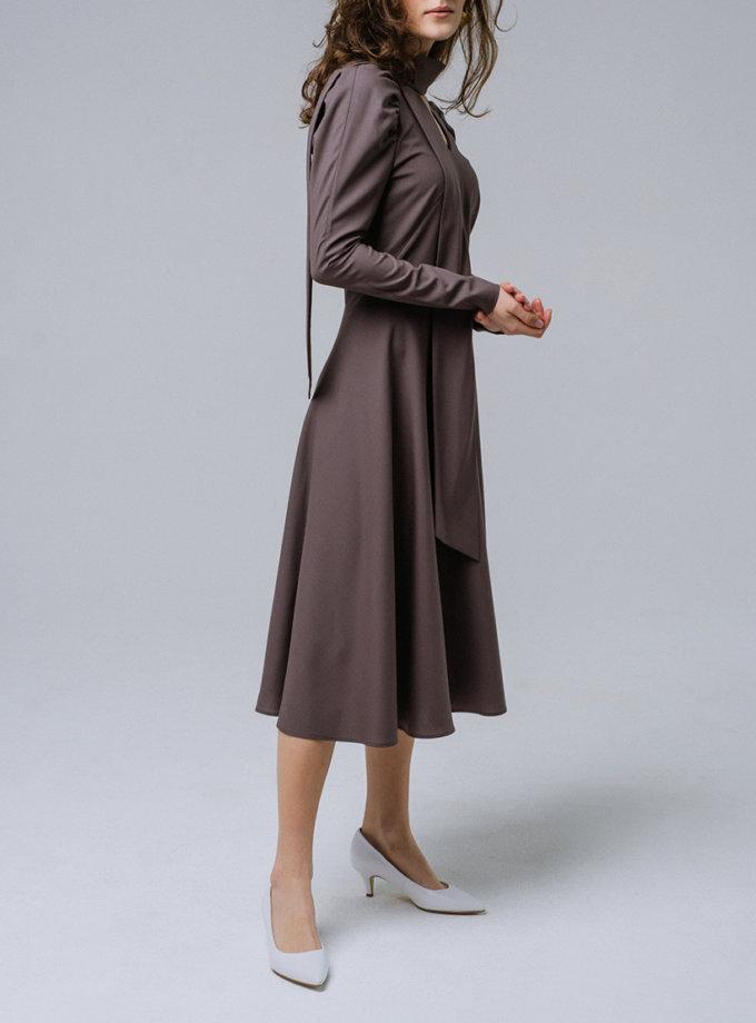 Платье миди из шерсти MNTK_MTDRS192002, фото 1 - в интернет магазине KAPSULA