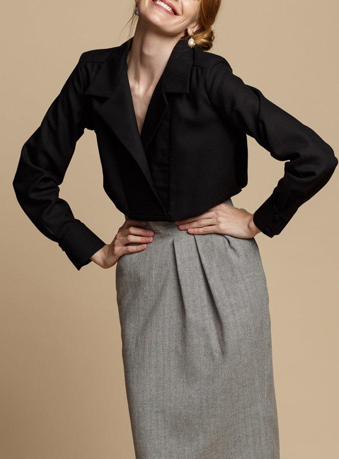 Блуза свободного кроя INS_FW1920_10_01, фото 1 - в интернет магазине KAPSULA