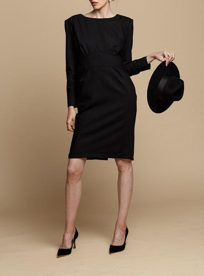 Платье-футляр из шерсти INS_FW1920_12, фото 1 - в интеренет магазине KAPSULA