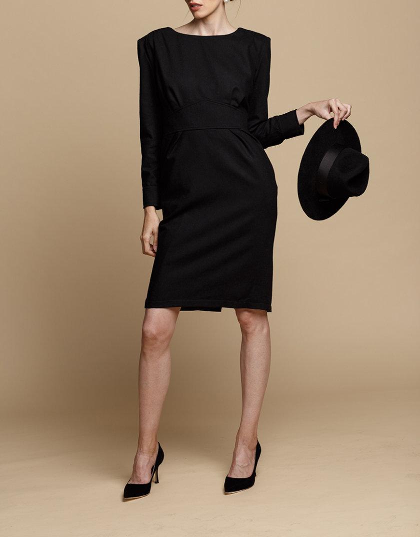 Платье-футляр из шерсти INS_FW1920_12, фото 1 - в интернет магазине KAPSULA