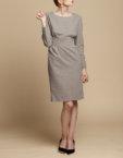 Платье-футляр из шерсти INS_FW1920_12, фото 4 - в интеренет магазине KAPSULA
