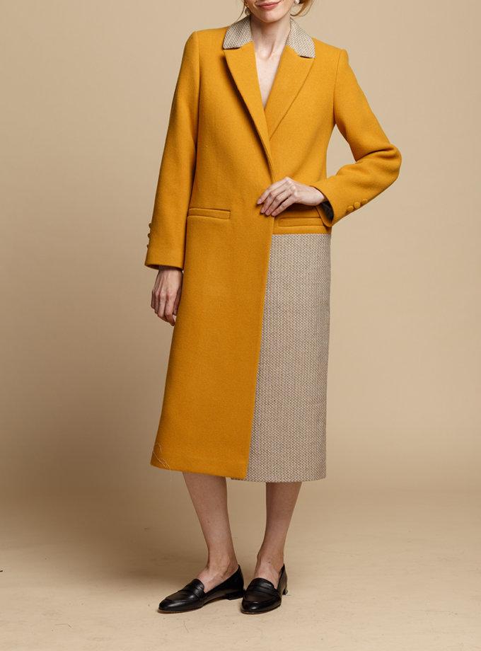 Пальто прямого силуэта INS_FW1920_2_02, фото 1 - в интернет магазине KAPSULA
