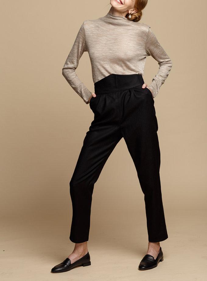 Прямые брюки из шерсти INS_FW1920_4, фото 1 - в интеренет магазине KAPSULA