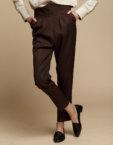 Прямые брюки из шерсти INS_FW1920_4_02, фото 3 - в интеренет магазине KAPSULA