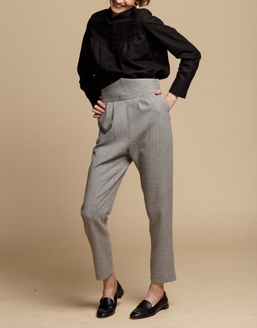 Прямые брюки из шерсти INS_FW1920_4_02, фото 1 - в интернет магазине KAPSULA