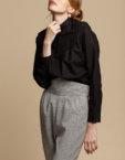 Классическая блуза на пуговицах INS_FW1920_9_02, фото 5 - в интеренет магазине KAPSULA
