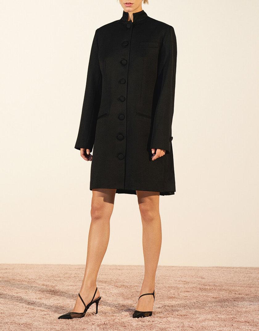 Платье-жакет со складками из шерсти IRRO_IR_PF19_BD_012, фото 1 - в интернет магазине KAPSULA