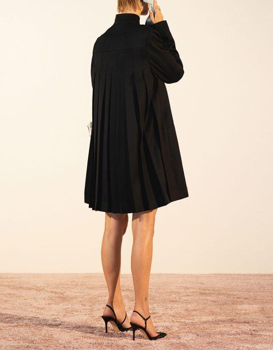 Платье-жакет со складками из шерсти IRRO_IR_PF19_BD_012, фото 1 - в интеренет магазине KAPSULA
