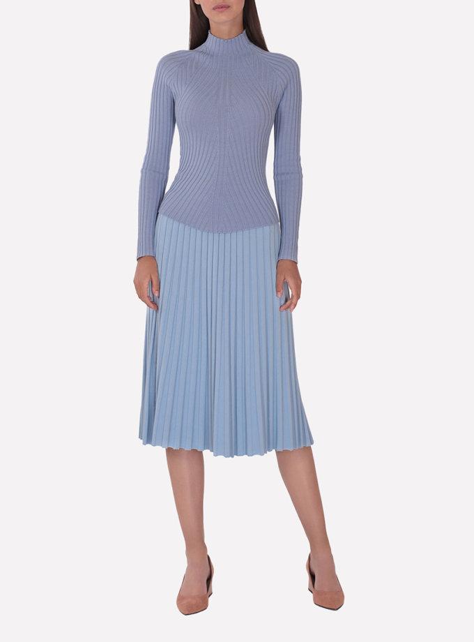 Джемпер из шерсти JND_19-010107-blue, фото 1 - в интернет магазине KAPSULA
