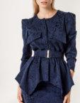 Платье-рубашка миди KS_F-W-21-15, фото 2 - в интеренет магазине KAPSULA