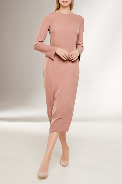 Платье с открытой спиной KS_F-W-21-19, фото 3 - в интеренет магазине KAPSULA