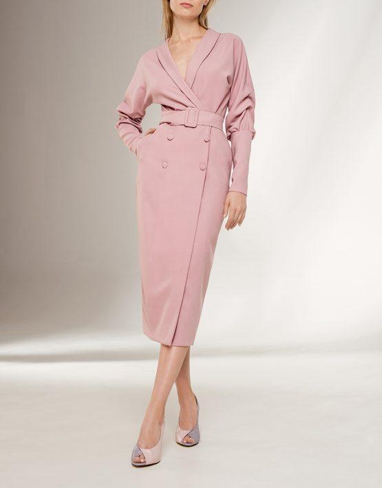Платье-жакет KS_F-W-21-26, фото 3 - в интеренет магазине KAPSULA