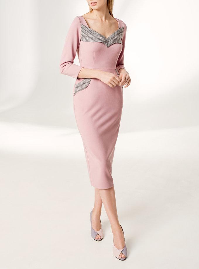 Платье футляр KS_F-W-21-27, фото 1 - в интернет магазине KAPSULA