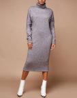 Платье-рубашка с разрезами на плечах LDCH_1960, фото 4 - в интеренет магазине KAPSULA