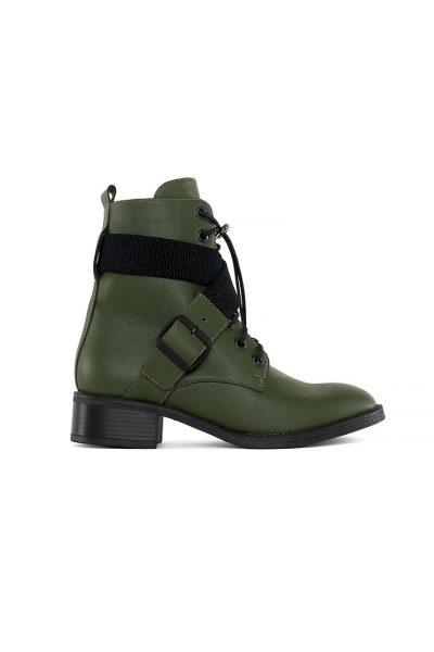 Кожаные ботинки Burner Haki MRSL_730131, фото 1 - в интеренет магазине KAPSULA