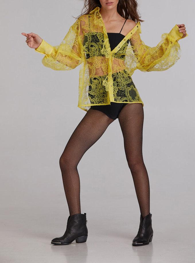 Блуза кружевная из хлопка SAYYA_FW923, фото 1 - в интеренет магазине KAPSULA