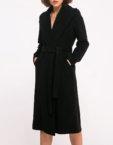 Шерстяное платье с рукавами-буфами SHKO_19005003, фото 4 - в интеренет магазине KAPSULA