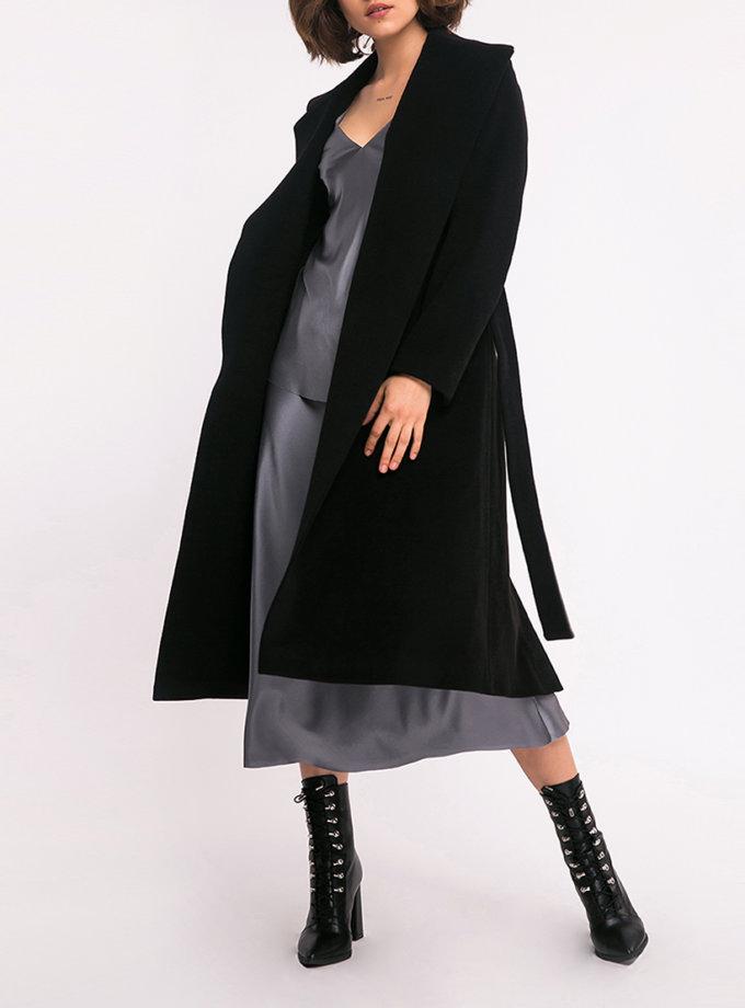 Пальто на запах из шерсти SHKO_15042038, фото 1 - в интеренет магазине KAPSULA