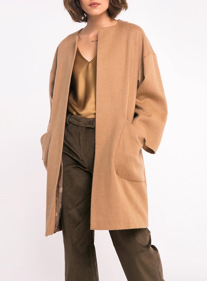 Кашемировое пальто свободного силуэта SHKO_16053008, фото 1 - в интеренет магазине KAPSULA