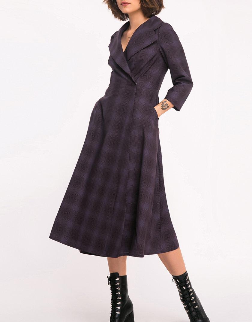 Шерстяное платье на запах SHKO_17036009, фото 1 - в интернет магазине KAPSULA