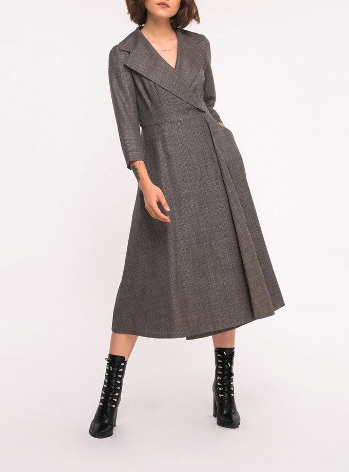 Платье на запах SHKO_17036013, фото 1 - в интеренет магазине KAPSULA