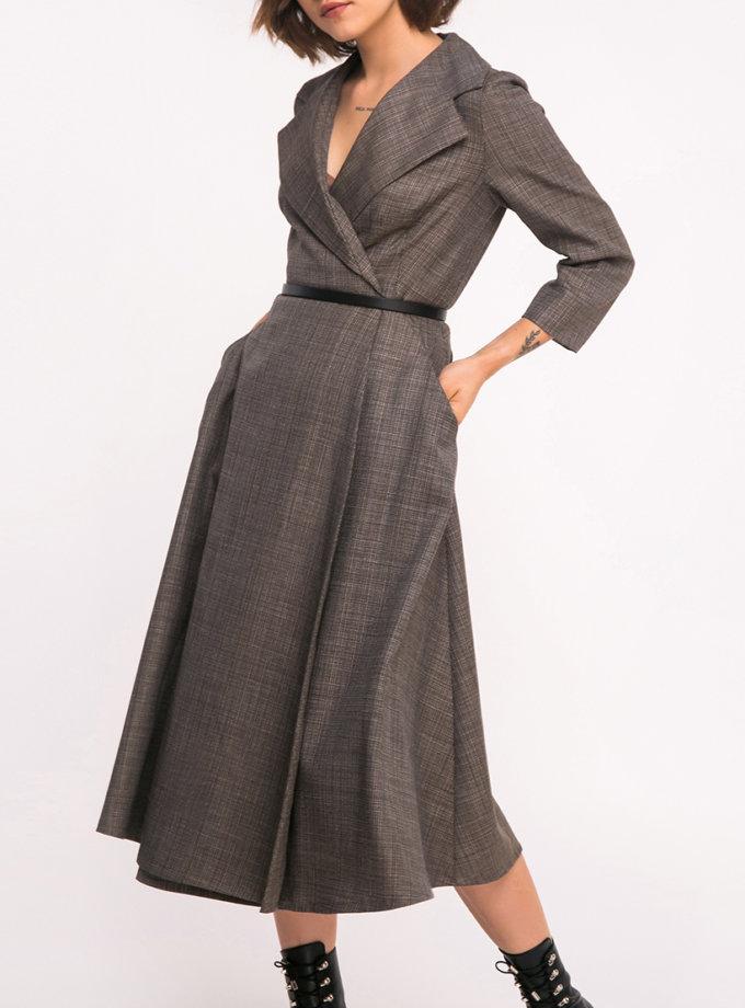 Платье на запах SHKO_17036013, фото 1 - в интернет магазине KAPSULA