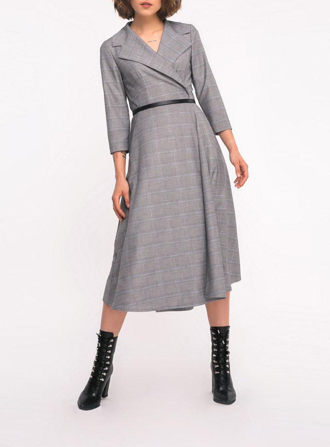 Платье на запах с карманами SHKO_17036014, фото 1 - в интернет магазине KAPSULA