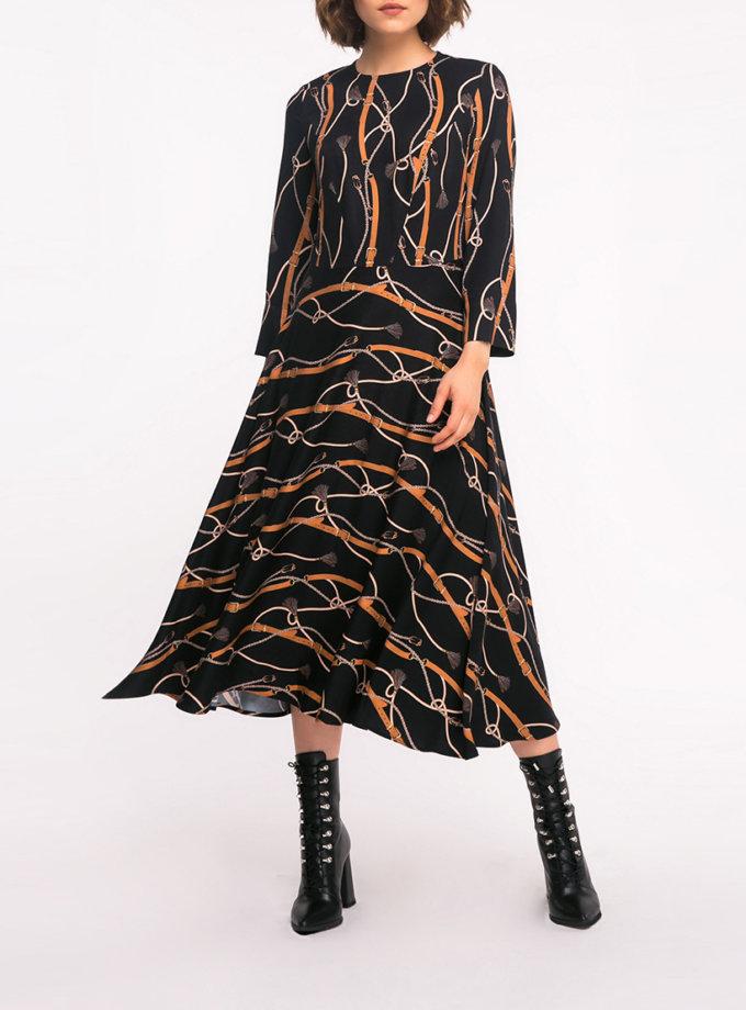 Легкое платье А-силуэта SHKO_17041013, фото 1 - в интернет магазине KAPSULA