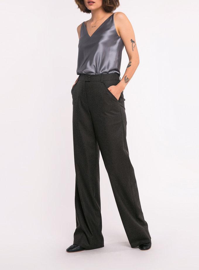 Широкие шерстяные брюки SHKO_18034007, фото 1 - в интеренет магазине KAPSULA