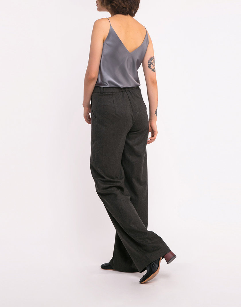 Широкие шерстяные брюки SHKO_18034007, фото 1 - в интернет магазине KAPSULA