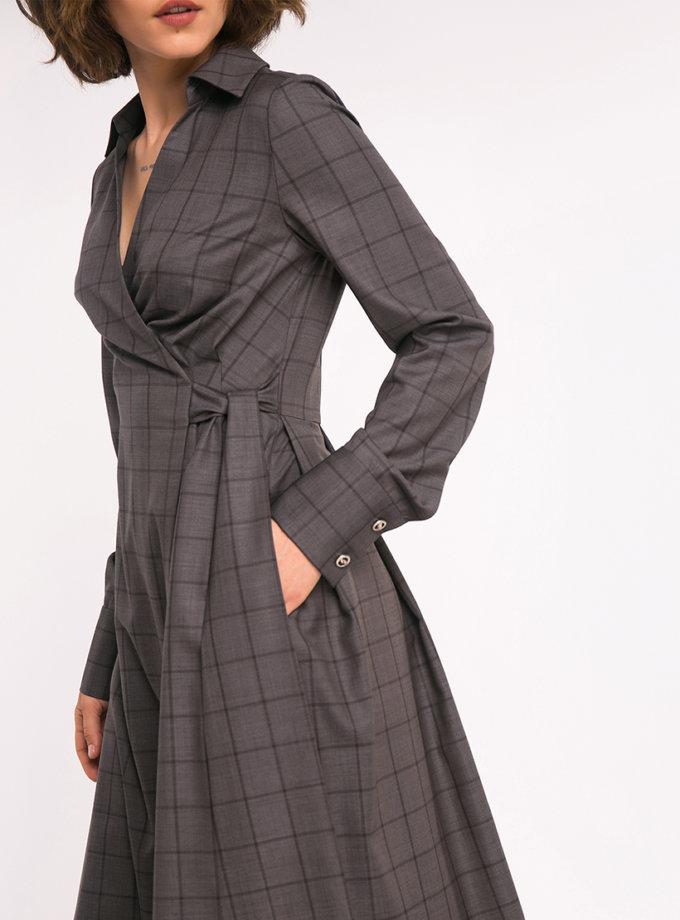 Платье-рубашка на запах SHKO_19035002, фото 1 - в интеренет магазине KAPSULA