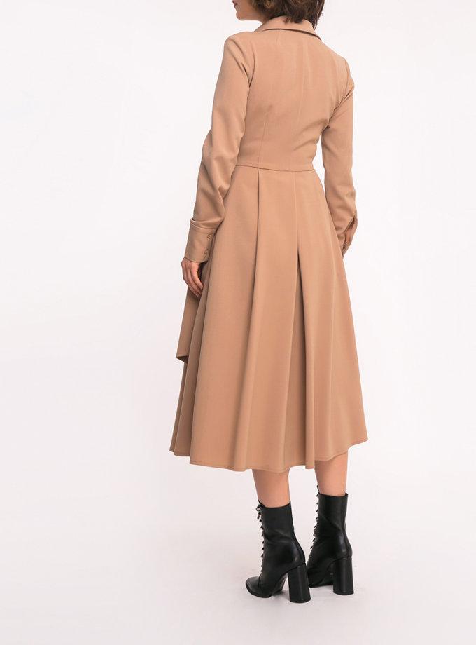 Платье-рубашка на запах SHKO_19035003, фото 1 - в интеренет магазине KAPSULA
