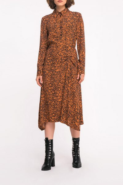 Платье с присборкой SHKO_19036002, фото 4 - в интеренет магазине KAPSULA