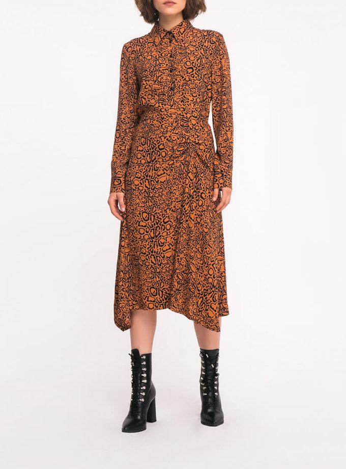 Платье с присборкой SHKO_19036002, фото 1 - в интеренет магазине KAPSULA