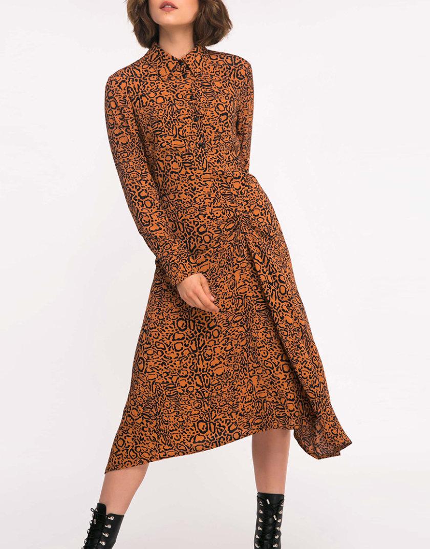 Платье с присборкой SHKO_19036002, фото 1 - в интернет магазине KAPSULA