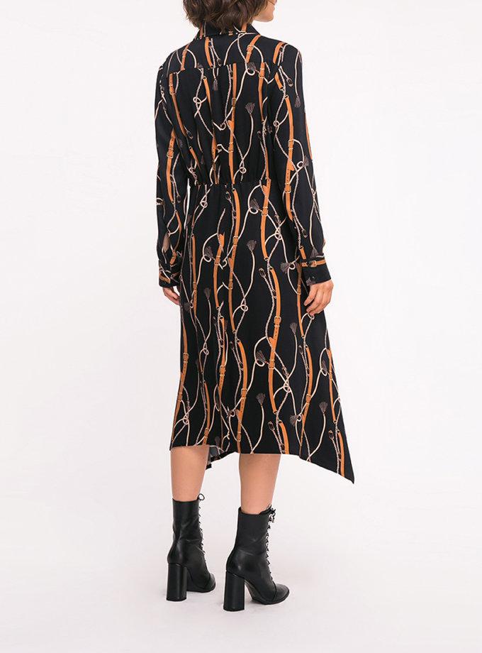Платье с присборкой SHKO_19036004, фото 1 - в интернет магазине KAPSULA