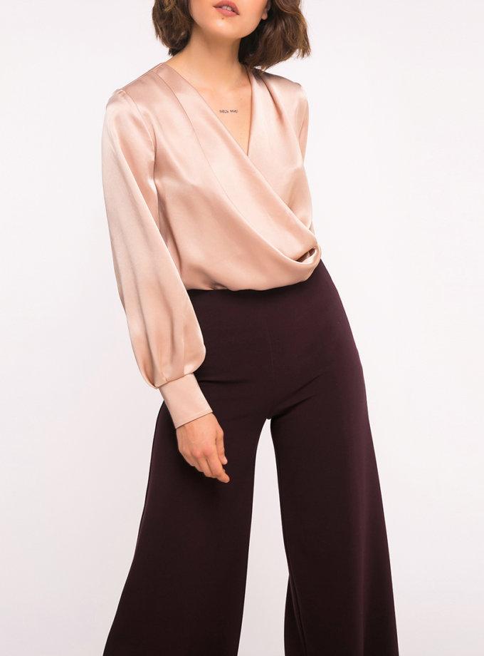 Блуза на запах SHKO_19040002, фото 1 - в интернет магазине KAPSULA