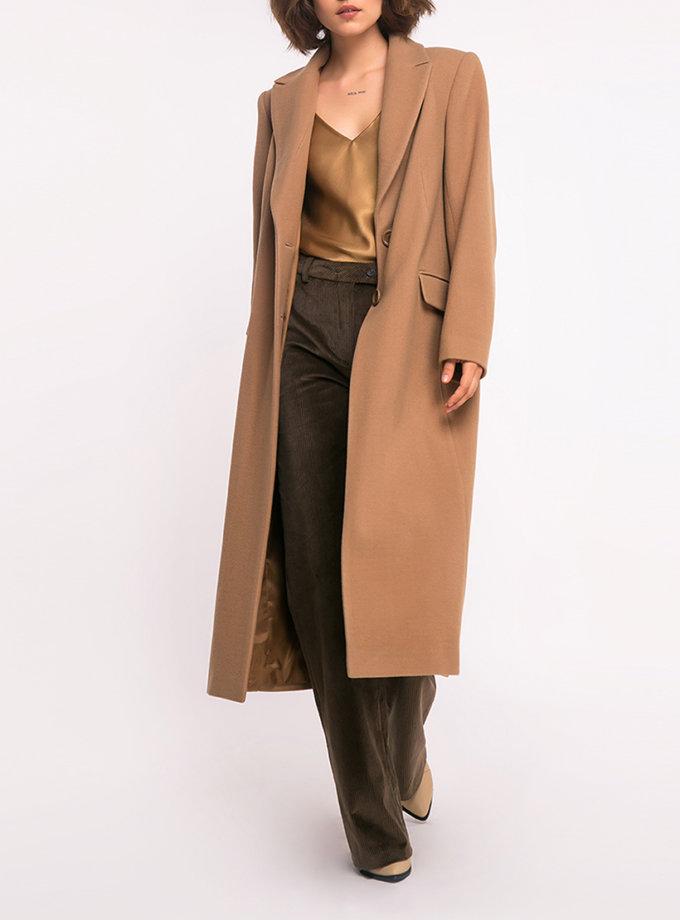 Пальто прямое из шерсти SHKO_19041001, фото 1 - в интернет магазине KAPSULA