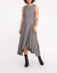 Платье миди в принт SHKO_19007009, фото 5 - в интеренет магазине KAPSULA